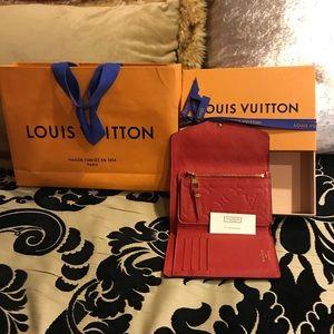 Lv Louis Vuitton Compact  Curieuse Wallet